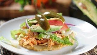 Salbutes Yucatecos - Yucatan Stule Tacos - Recetas De Antojitos Mexicanos
