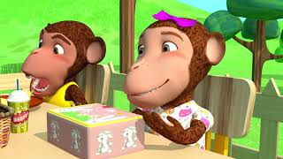 The Lunch Song   Nursery Rhyme & Kids Song