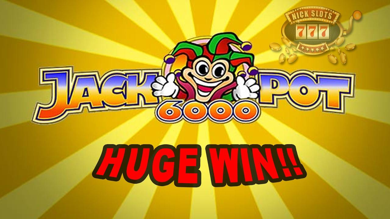 Slot machine jackpot 6000
