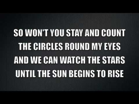 Green Day- Stay The Night (LYRIC VIDEO)