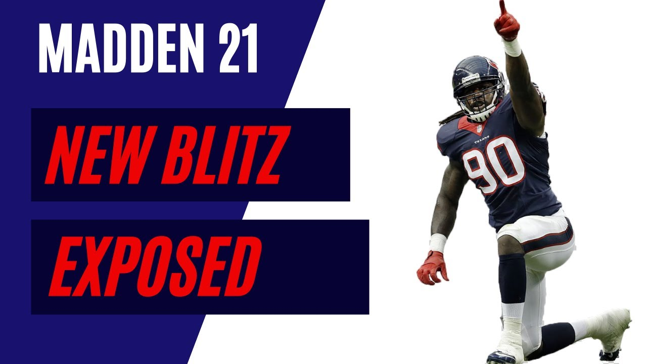 New Unlockable Blitz Exposed! (34 odd Blitz Defense) Madden 21 Defense Tips