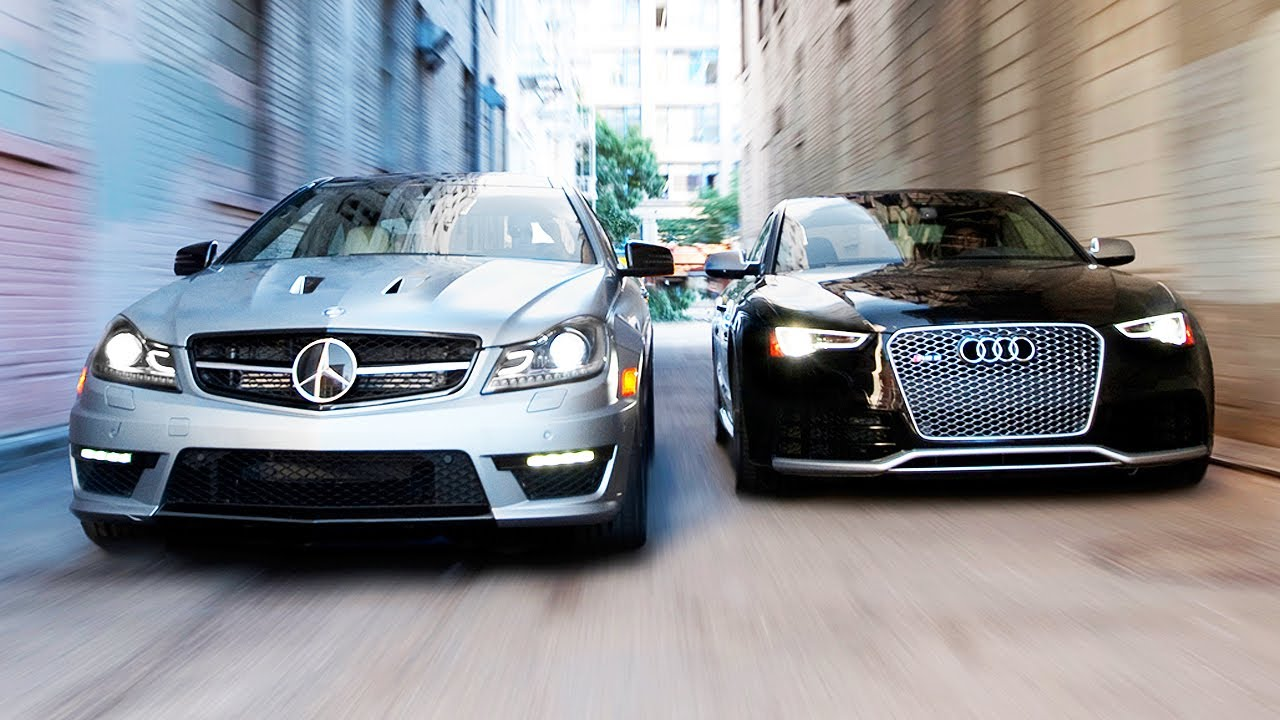 Audi Vs Mercedes >> 2014 Audi Rs5 Vs 2014 Mercedes Benz C63 507 Coupe Head 2 Head Ep 51