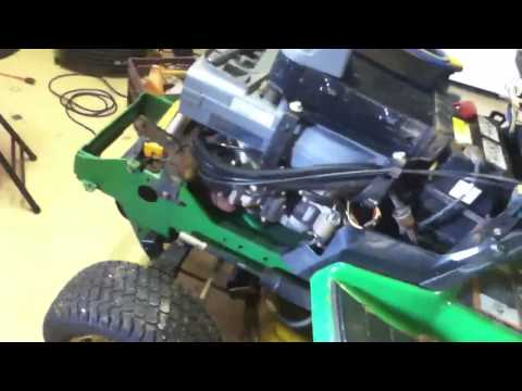 Troubles with the John Deere 345 - YouTube