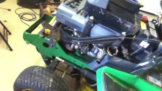 Troubles with the John Deere 345