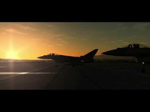 DCS World Movie - Typhoon Trouble