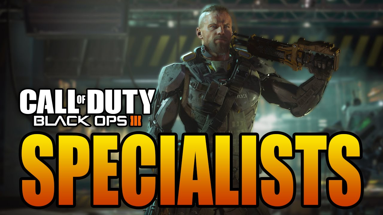 Black Ops 3 Specialists Multiplayer Characters With Powers Special Weapons Call Of Duty Bo3