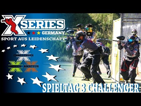 XSeries X5 Challenger Ost 2017 - 3.Spieltag in Gera [Germany][HD][Paintball 2017]
