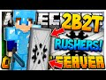 2b2t JOINING THE RUSHERS TeamRusher 2b2t Server OLDEST SERVER IN MINECRAFT W KingPenguin