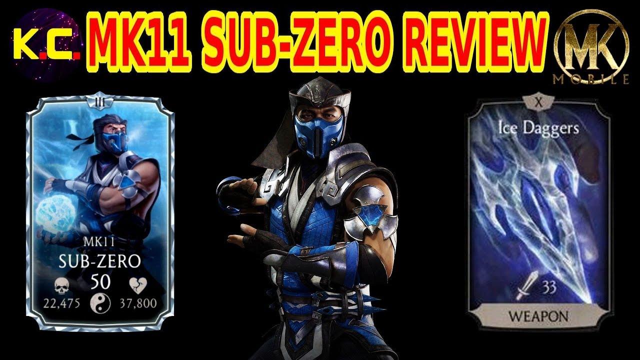 MK Mobile - MK11 Sub-Zero Review