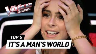 Скачать BEST 39 IT 39 S A MAN 39 S WORLD 39 Covers In The Voice Kids