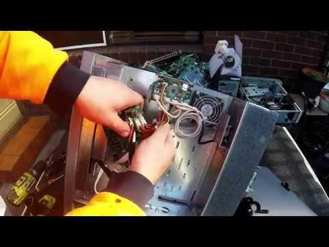 Scrapping a Rimage Robotic CD Duplicator
