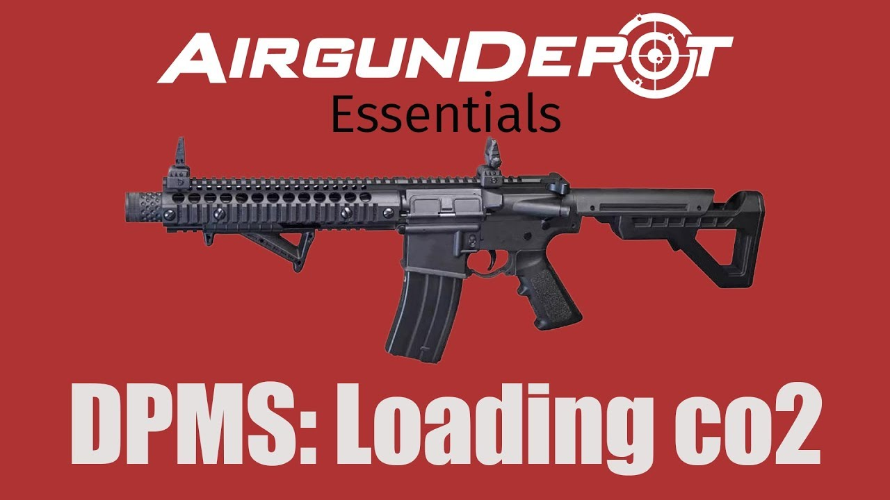 Crosman DPMS: How to load the CO2