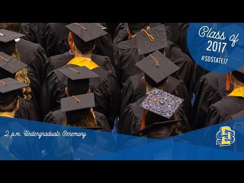 2017 Undergraduate Ceremony (2 p.m.)