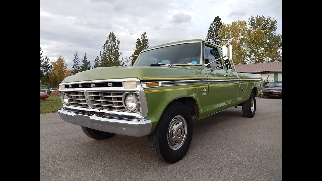 1971 Ford F 250 Ranger Highboy 4x4