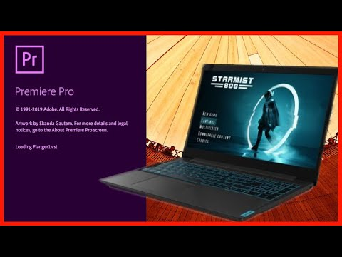 Video Editing Adobe Premiere On Lenovo L340