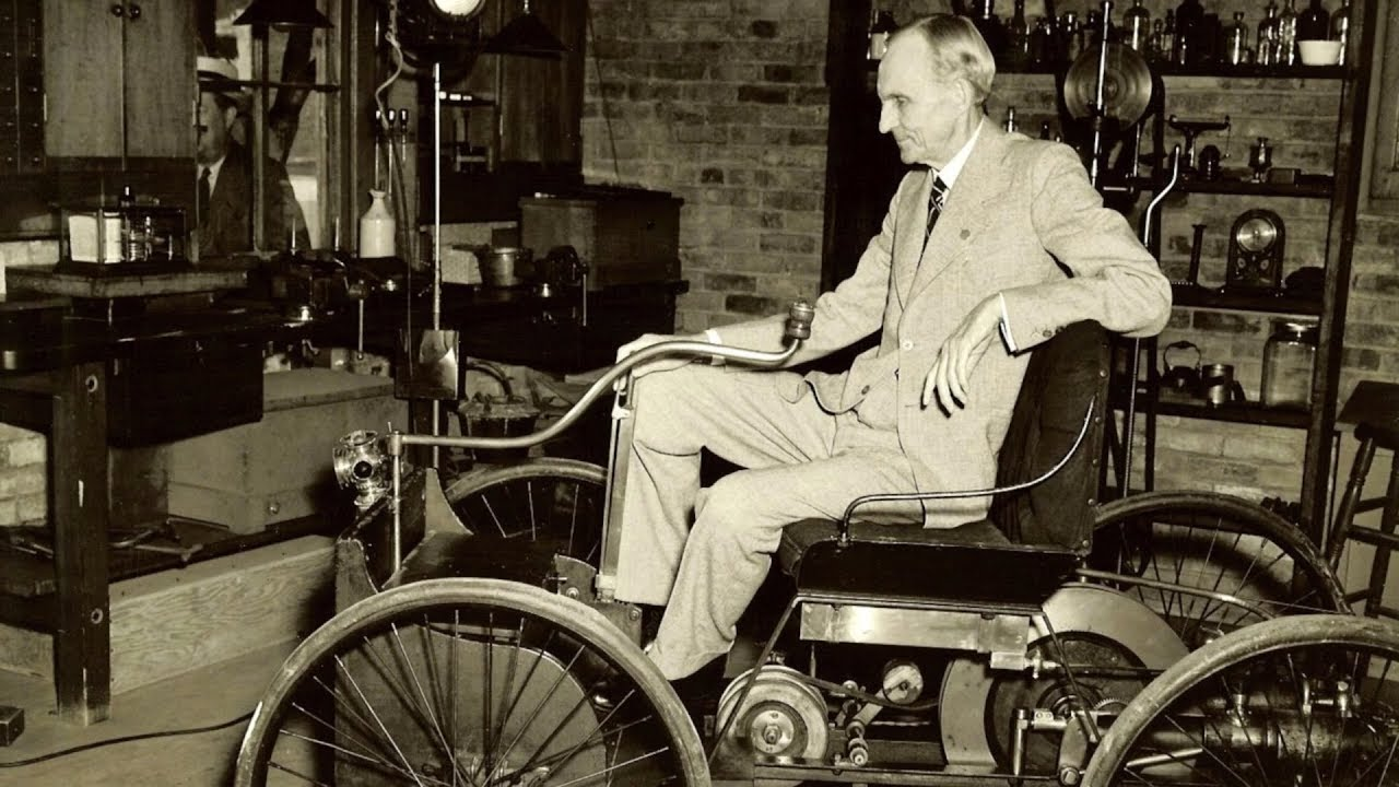 a description of henry ford as an extremely hardworking man