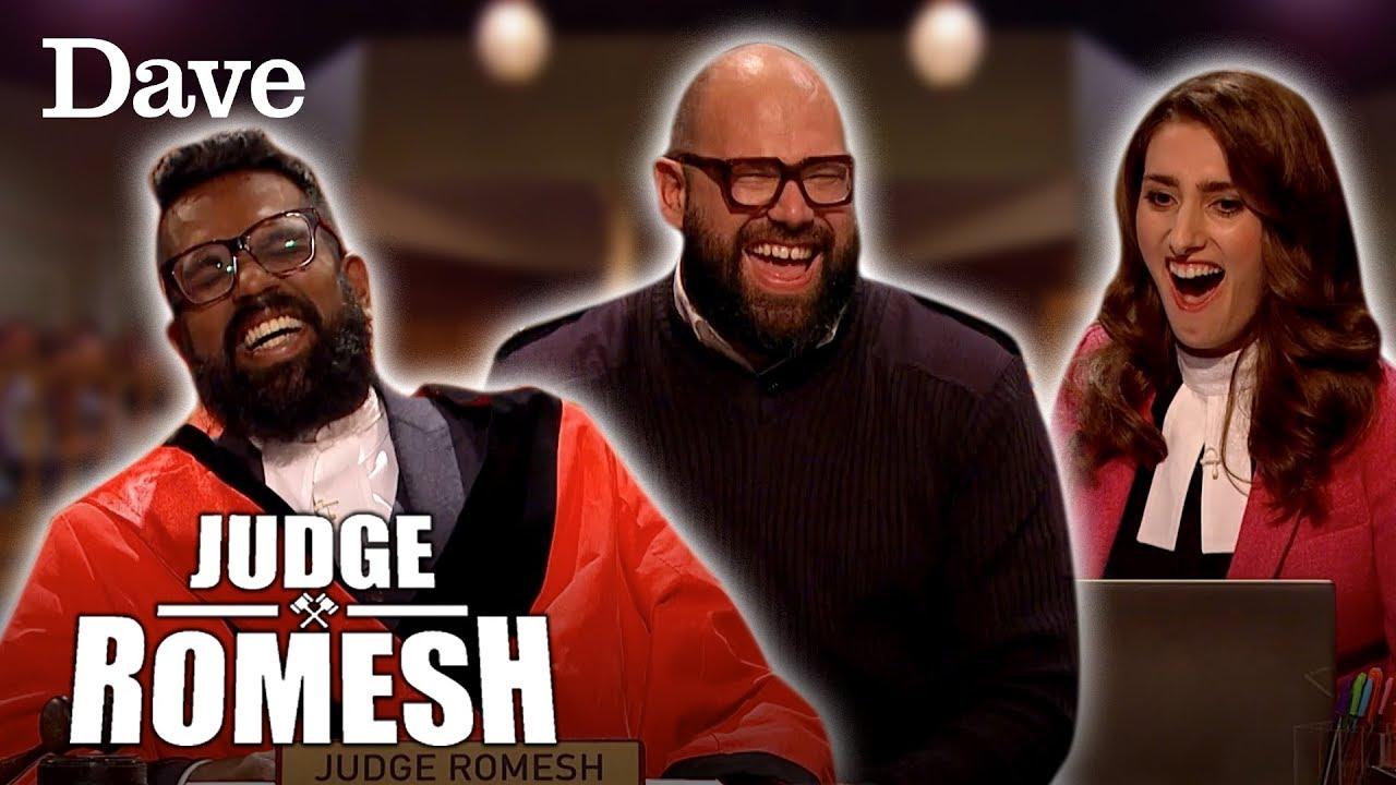 Romesh & Davis Share A Hilarious Bromance Moment | Judge Romesh