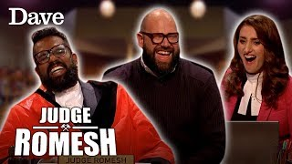 Romesh & Davis Share A Hilarious Bromance Moment | Judge Romesh