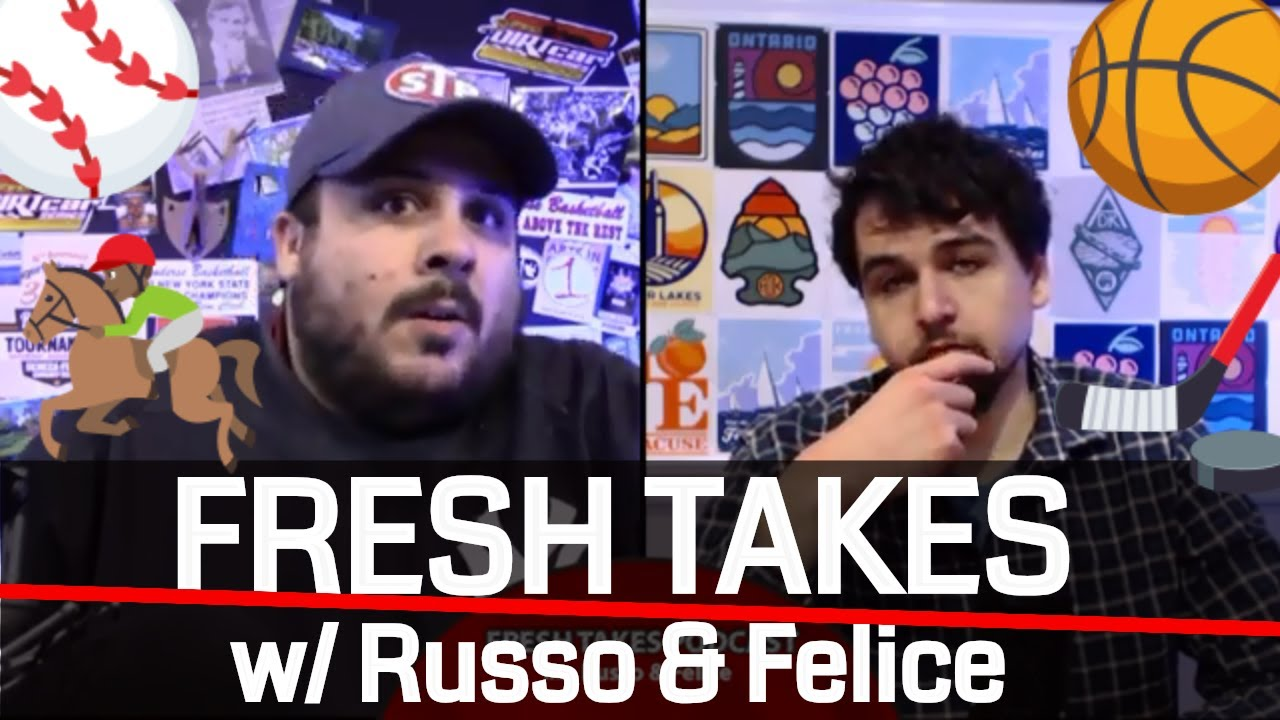 FRESH TAKES W/ RUSSO & FELICE: Stanley Cup & NBA Finals all tied up (podcast)