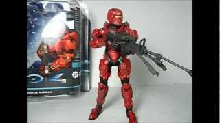 McFarlane Toys: Halo 4 Spartan Warrior UNSC (Red)