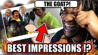 Rap Songs in Voice Impressions! (2019) Pennywise, Black Panther, Stewie Griffin + MORE! (REACTION!)