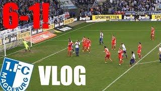 FCM VLOG | Die Deklassierung! 6:1! | 1. FC Magdeburg - VfR Aalen