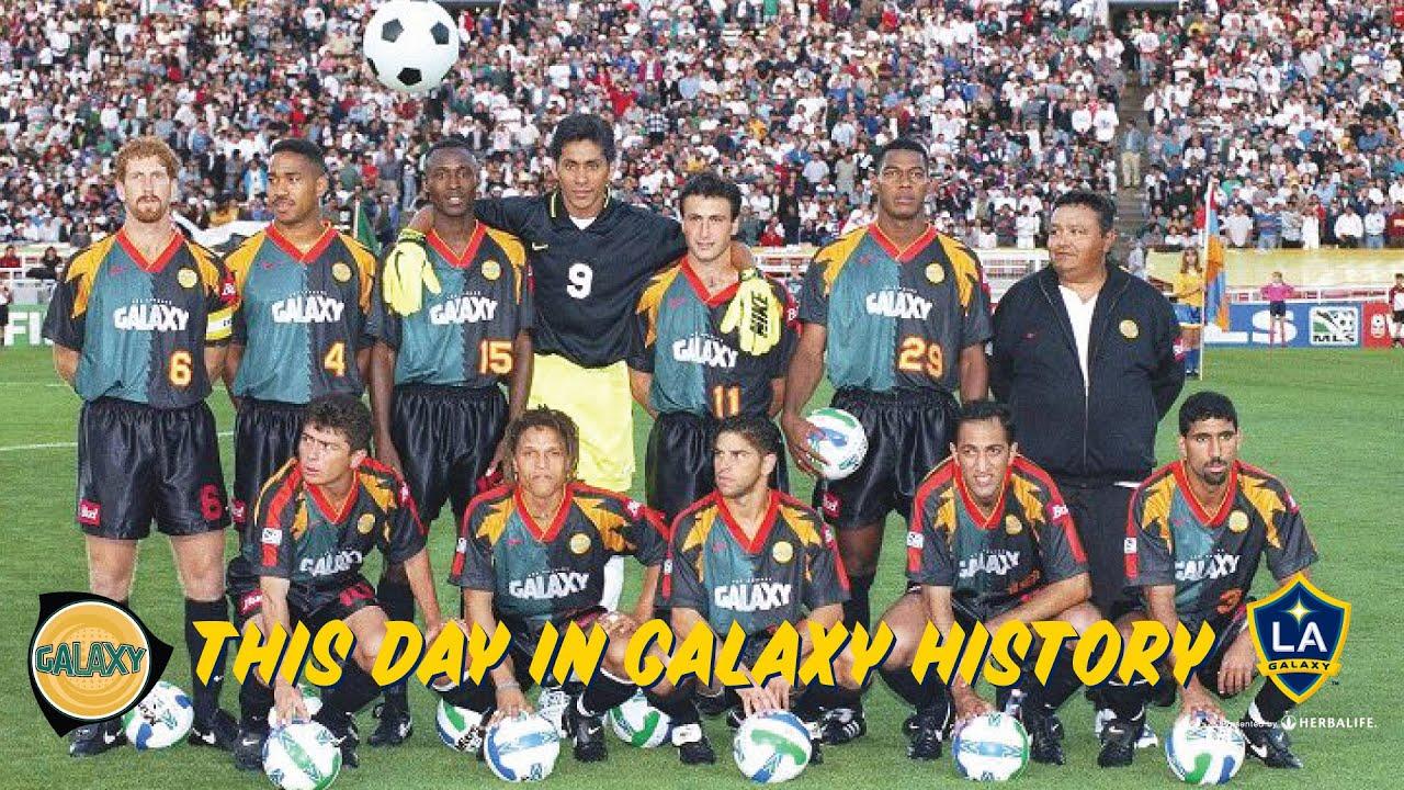 a4342118e72 HIGHLIGHTS: LA Galaxy vs. MetroStars | April 13, 1996 | On This Day in LA  Galaxy History
