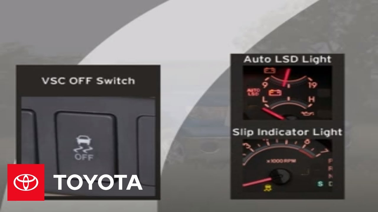 2007 Tundra How-To: Vehicle Stability Control (VSC)   Toyota