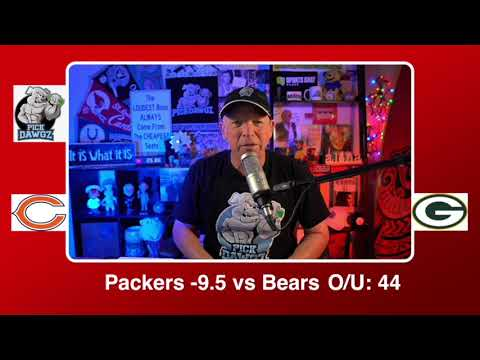 Green Bay Packers vs Chicago Bears 11/29/20 NFL Pick and Prediction Sunday Week 12 NFL