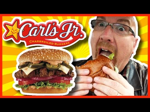 Carl's Jr.  THE 1/2LB  JALAPEÑO THICKBURGER® Kitchener, Ontario