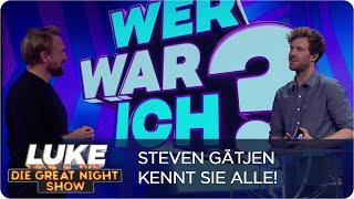 Wer war ich? Fernseh-Stars raten mit Steven Gätjen| LUKE! Die Greatnightshow