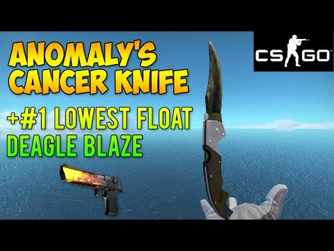 CS GO Skins - Worst Knife Ever + #1 Float Deagle Blaze! (McSkillet Inventory Update)
