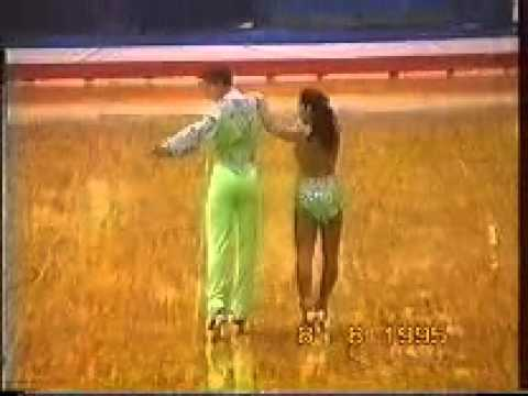 Syracuse95 USA Roller Skating Nationals - Paso Doble.wmv