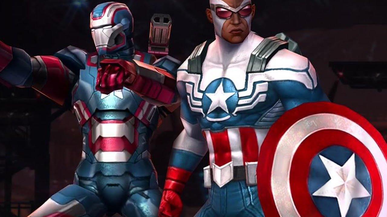 Iron Man 3 Suit Patriot Marvel: Future Fight -...