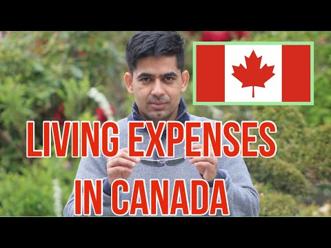 Living expenses in Canada