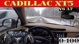 Cadillac XT5 - знатная шестерка тянет от 0 до 100