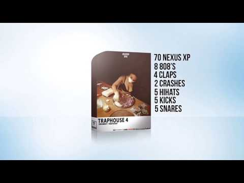 RayBeatz808 - Traphouse 4 Soundkit / Drumkit / Nexus Expansion /( Free Download )