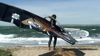 Pascal Toselli Planche a voile vitesse Jai