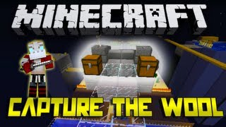 DEATH FROM ABOVE!! Capture the Wool w/Nooch and Friends GAME 1