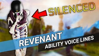 Apex Legends Revenant - Silenced Ability Voice Lines from all legends!