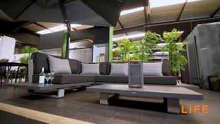 LIFE Outdoor Living - Fitz Roy lounge lava
