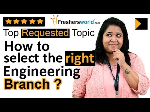 Tips to select the right Engineering branch – How to Choose an #Engineering Course & Branch?, Tips