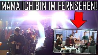 MAMA ICH BIN IM FERNSEHEN ! ESLM vLOG & Huawei Live Show