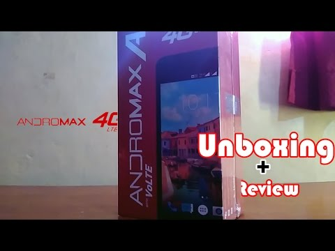 Unboxing Dan Review Andromax A 4G LTE [ GOLD ]