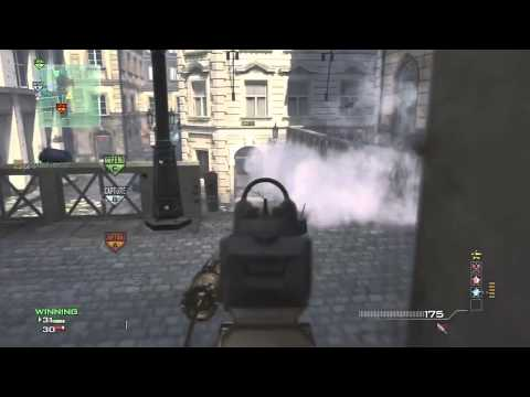 MW3: Quick P90 MOAB On Lockdown :: How To Control Domination Spawns!