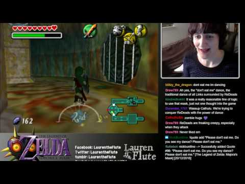 Let's play Majora's Mask #21: Ikana Castle, Elegy of Emptiness (blind play, no spoilers!)