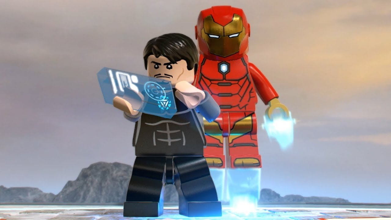 lego marvel superheroes how to get iron man mark 42