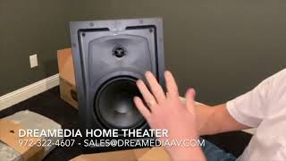 Unboxing/review Episode 350 Series In Wall/ In Ceiling Speakerses 350t Iw 6 / Es 350t Ic 6