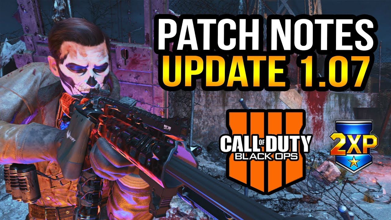 black ops 4 patch 1.07 ps4