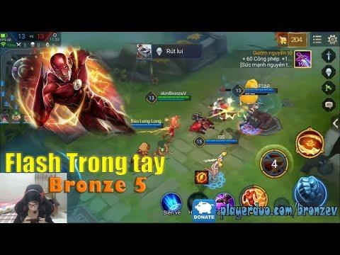 [Highlight] Tia Chớp Flash quá nhanh, quá nguy hiểm trong tay Đồng 5 | BronzeV Channel